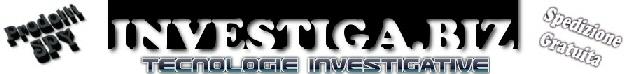 Aquista i nostri prodotti by ISTITUTO SERVIZI INVESTIGATIVI